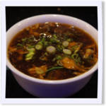 Deluxe Hot and Sour Wonton Soup
