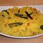 Indian Style Lemon Rice (Nimakaya Pulihora)
