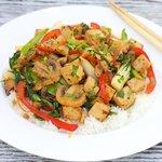 Tofu and Vegetables Stir-Fry