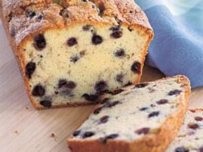 Twisted Butter Cream Cheese and Wild Blueberry Pound Cake