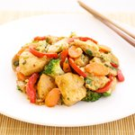 Quick Broccoli and Chicken Stir-Fry