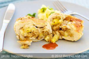 Hawaiian-Stuffed Chicken Breast