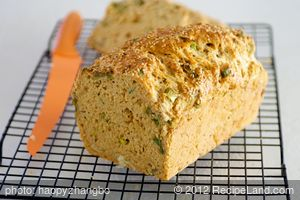 Quick Onion Cheese Bread
