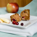 Apple and Cranberry Muffins (Low-fat)