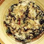 Swiss Chard ala Sesame Seeds and Flax Oil