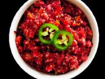 Texas Cranberry-Jalapeno Relish