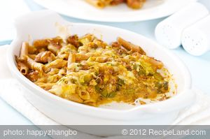 Chorizo Noodle Casserole