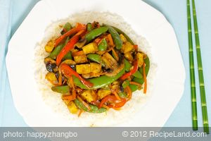 Tofu and Sugar Snap Pea Stir Fry