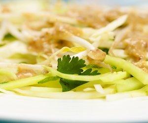 Cabbage Cucumber Salad with Tamarind Dressing