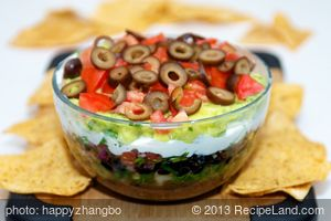 Fresh Seven-Layer Dip