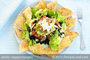 Easy Layered Taco Salad
