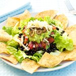 Easy Layered Taco Salad