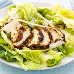 Blackened Chicken with Caesar Salad