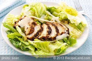 Blackened Chicken with Caesar Salad