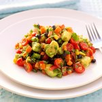 Black Bean, Corn and Bell Pepper Salad