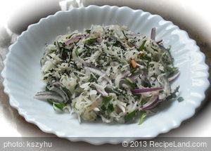 Sour Cabbage Salad