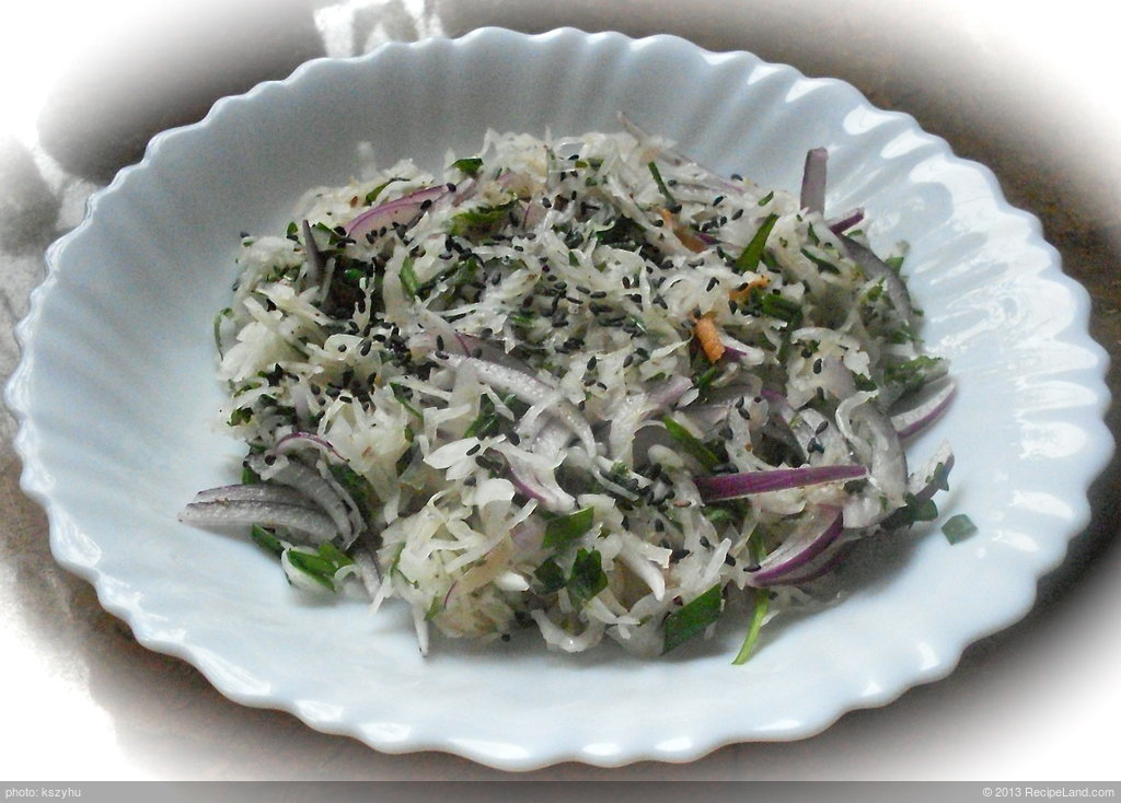 Sour Cabbage Salad