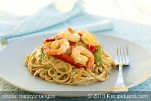 Angel Hair Pasta With Shrimp
