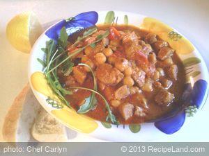 Chickpea Stew Vegan Style