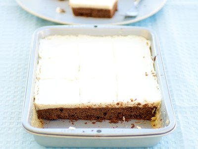 Kahlua Cheesecake Bars (Healthier Version)