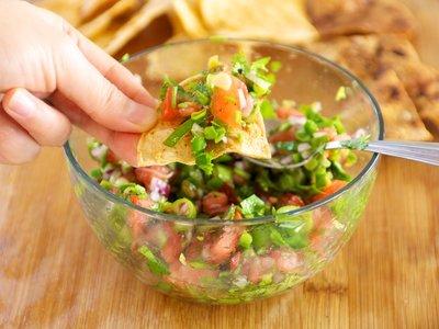 Mild Fresh Salsa