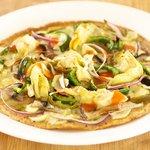 Easy Breakfast Tortilla Pizza