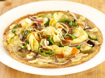 Easy Breakfast Tortilla Pizza