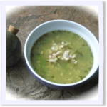 Garlic and Fava Beans Soup