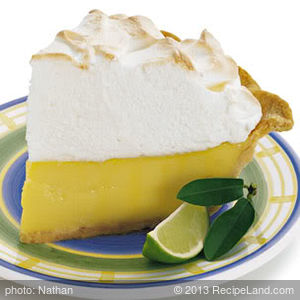 """Real"" Key Lime Pie"