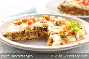 Awesome Impossible Taco Pie