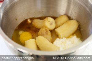 Banana Oats and Walnut Bread