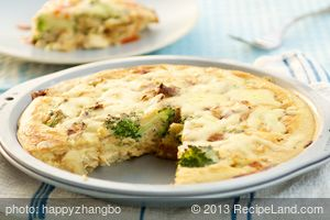 Impossible Chicken 'N Broccoli Pie