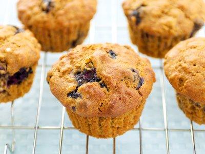 Amazing Blueberry Lemon Muffins
