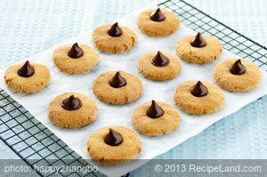 Chocolate Kiss Cookies