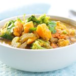 Chick Pea and Yam Stew