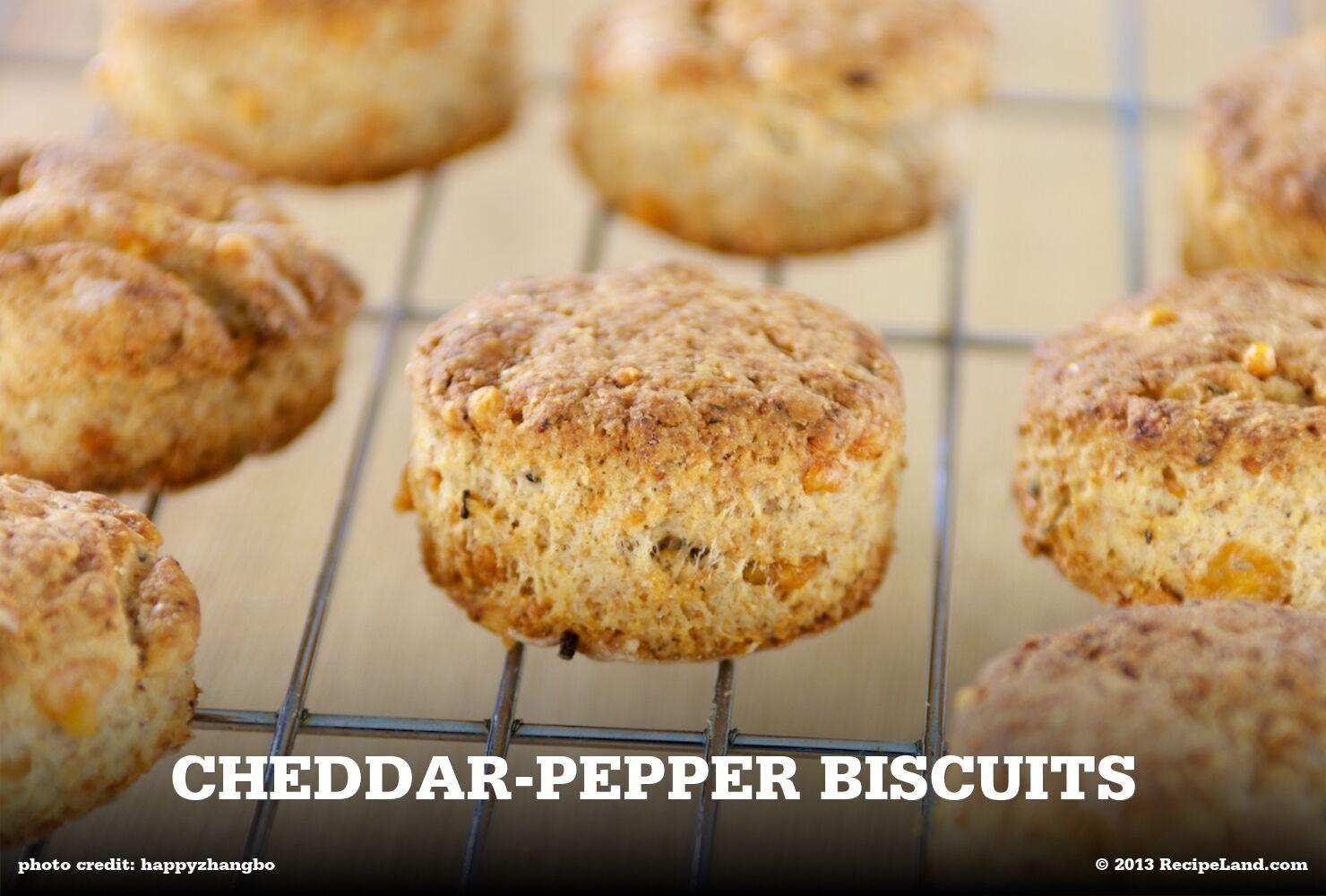 Cheddar-Pepper Biscuits