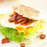 Bacon, Egg and Lettuce Sandwich