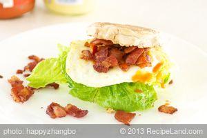 Bacon, Egg and Lettuce Sandwich