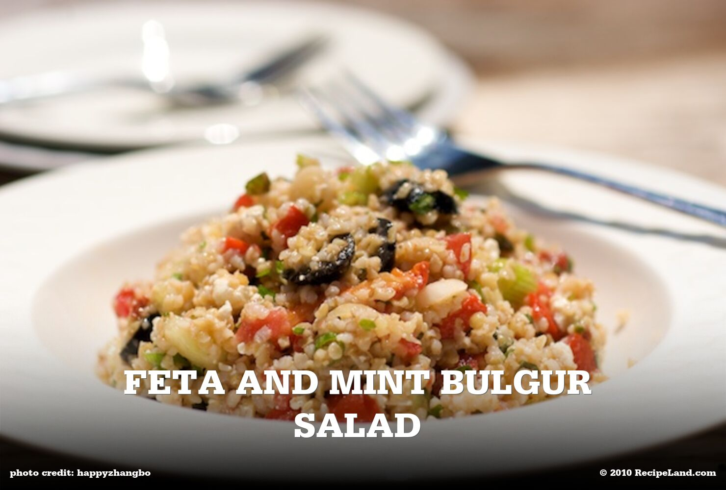 Feta and Mint Bulgur Salad