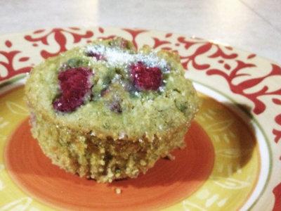 Gluten-Free Casein-Free Lemon Raspberry Muffins