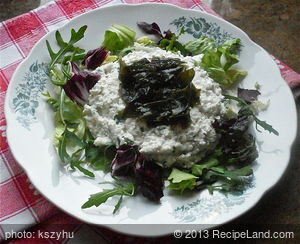 Cottage Cheese with Seaweed