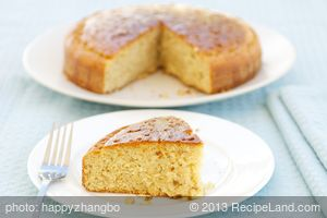 Key Lime Cake (Lighter Version)