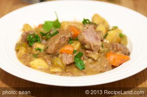 Beef Stew in A Crockpot
