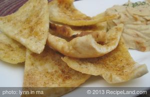 Favourite Toasted Pita Chips