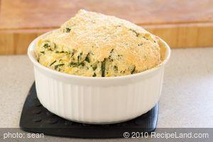 Beet Green Souffle