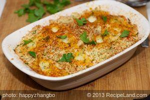 Grandpa's Mashed Potato Casserole