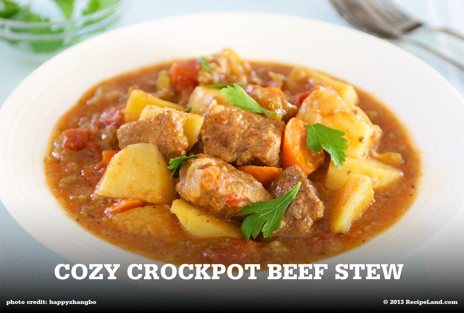 Cozy Crockpot Beef Stew