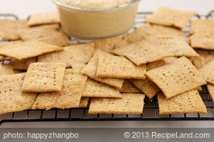 Parmesan Crackers