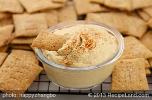 Almond Butter and Sour Cream Hummus