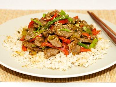 Easy Beef Stir Fry (Low Fat)
